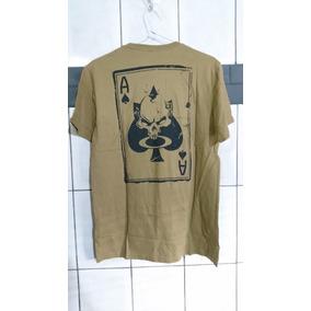 Camiseta Oakley Masculina Death Card Caveira Desert Elite df61626a8ca
