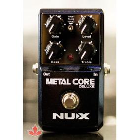 Pedaleira Nux Metal Core Deluxe Nf E Garantia - Revendedor
