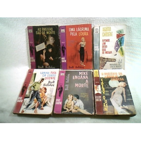 Lote De Livros/ Mike Shayne + Ellery Queen + Agatha Christie