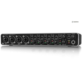 Interface De Áudio Behringer U-phoria Umc 404 Hd Umc404hd