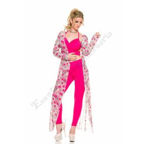 Saco Spolverino- Capa-kimono-bata-largo Maxi Estampado