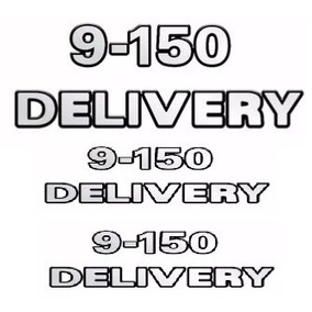 Emblema Adesivo 9150 Delivery Caminhao Vw Kit