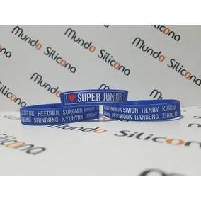 Pulsera De Super Junior (suju) Mayoreo (x 20 Unidades)