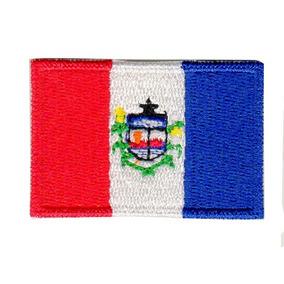Patch P/ Camiseta Jaqueta - Bandeira De Alagoas Pequena