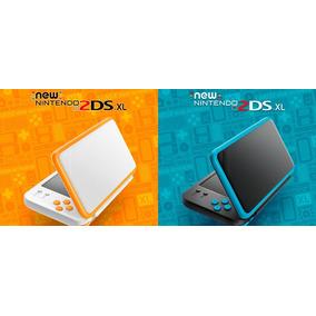 New Nintendo 2ds Xl +case +pelicula 32gb+desbloqueadoluma9.1