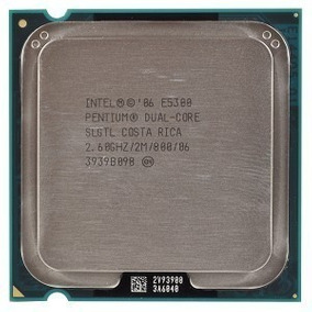 Processador Intel Dual Core E5300 2.6ghz / 2m / 800 / 86