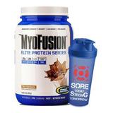 Whey Protein Myofusion Advanced 900g + Shaker - Gaspari