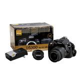 Camara Nikon D5300 Lente 18-55mm F/3.5-5.6