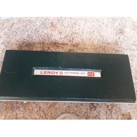 Normografo Leroy Lettering Set Estojo Completo
