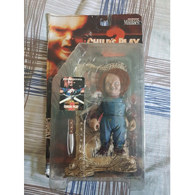Action Figure Mcfarlane Movie Maniacs - Chucky - Autografado 3c1e5c9e10