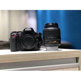 Camera Nikon Slr D5100 Com Lente Sigma 70 300 E Bolsa