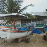 Barco ,fibra, Diesel,