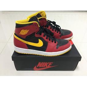 Tênis Nike Air Jordan 1 High One Og Ano 1988 Atlanta Hawks