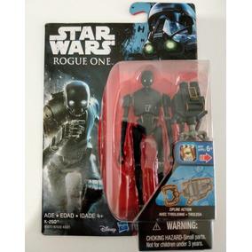 Robo K-2so, K2so - Star Wars Roge One, Droid Preto Star Wars