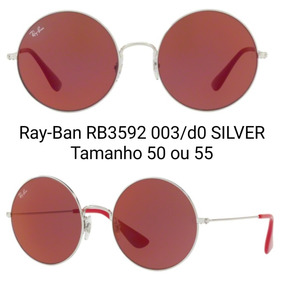 1144f292b4188 Ray Ban Jo 4098 Vermelho Com Haste Branca - Óculos no Mercado Livre ...