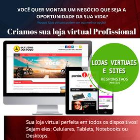 c7970ad3a São Paulo · Criação De Site E Loja Virtual E-commerce -site + Brinde !