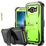 Samsung Galaxy J1 J120 (2016) - #bright Green - Resiste-8940