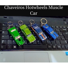 Kit Chaveiros Hotwheels Muscle Car
