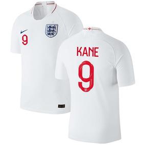 Camiseta Selección Inglaterra Kane #9 Parches Mundial 2018
