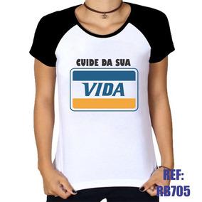 Camiseta Cuida Vida Camisetas Manga Curta No Mercado Livre Brasil