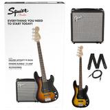 Combo Bajo Fender Squier Precision Bass Sunburst