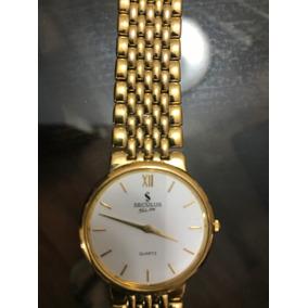 229ee495b19 Relogio Seculus Slim Masculino Dourado - Relógios De Pulso no ...