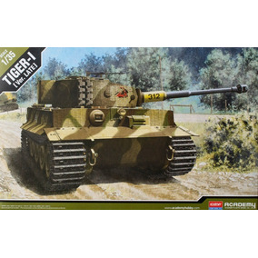 Academy Tanque Tiger-1 Version Late 1/35 Supertoys