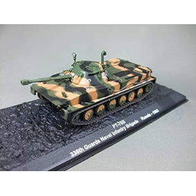 Tanque Miniatura Pt-76b 336th Guards Naval Russia 1993