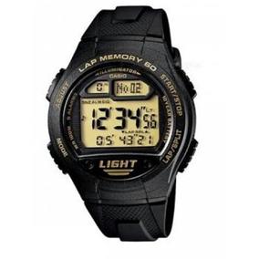 Reloj Casio Modelo W-734 Ambar