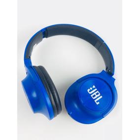Fone De Ouvido Jb-s100 Dobrável Com Fio Headphone Azul Blue