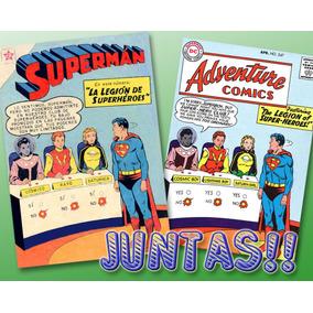 Superman 197 + Adventures 247 Legión De Superhéroes-digital