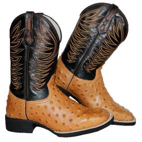 Botas Texanas Avestruz Masculino - Botas no Mercado Livre Brasil b5300a57eca