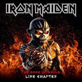 Cd Iron Maiden The Book Of Souls - Live Chapter (2017)