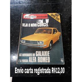 Revista Quatro Rodas 131 Junho 1971 Corcel 1 Galaxie
