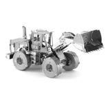 Rompecabezas 3d Metal Maquinaria Tractor Catarpilar Puzzle