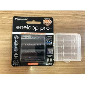 Pilha Eneloop Pro Panasonic Aa 2550mah X 4 Original Japão