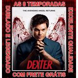 Dexter Serie (1ª Até 8ª Temporada) Completa Com Frete Grátis