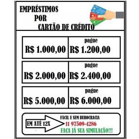 Baixolão - Empréstimos Pelo Cartão De Crédito