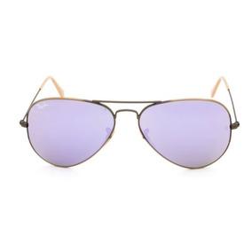 0b2027eaab514 Óculos De Sol Ray Ban 3025 Aviator Bronze L.marrom Degrade - Óculos ...