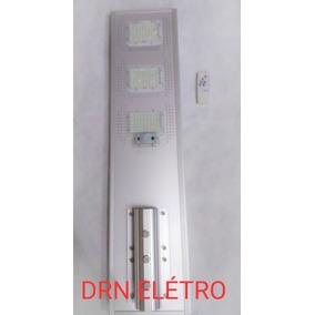 Luminária Pública Poste Solar Led 150w Com Sensor