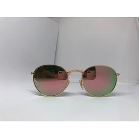748ee9bac1c40 Oculo Redondo Espelhado Rosa Barato De Sol - Óculos no Mercado Livre ...