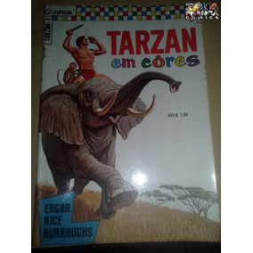 Tarzan Em Cores 1ª Série Nº 01 Editora Ebal E Rice Burroughs