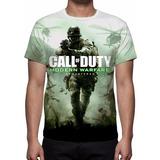 Camisa, Camiseta Game Call Of Duty Modern Warfare Remastered