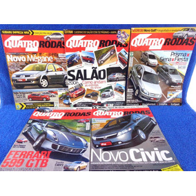 Lote Revista Quatro Rodas(5) N°548,558,557,555,552..