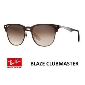 Blaze Marrom Ray Ban Clubmaster - Óculos no Mercado Livre Brasil ad32e156ba