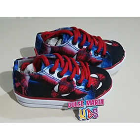 Tennis Zapatos Converse Niños Spiderman Hombre Araña 56b898c4950