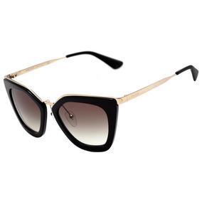 Oculos De Sol Prada Dourado - Óculos no Mercado Livre Brasil 0f4e82320d