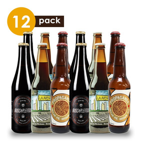 Cerveza Artesanal Brown Ale Cervexxa Beerpack 12