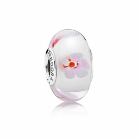 Charm Murano Pandora Cherry Blossom