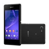 Smartphone Sony Xperia E3 4gb Dual 3g 5mp Preto Vitrine 3